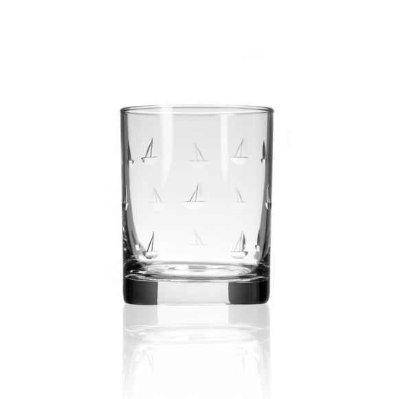 Rolf Sailing Double Old Fashioned Glass