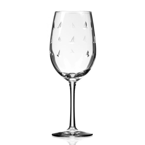 Rolf Sailing Small White Wine Glass