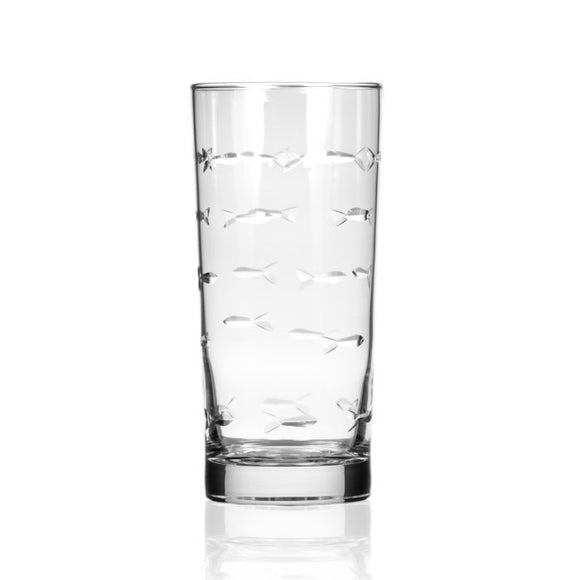 Rolf School of Fish Highball Glass