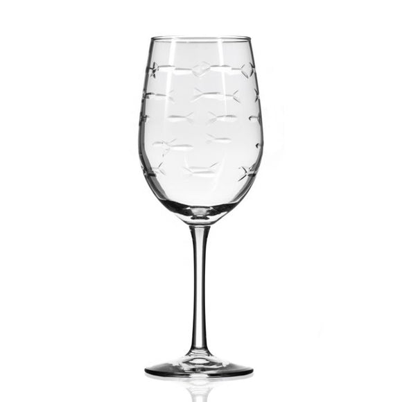 Rolf School of Fish Small White Wine Glass