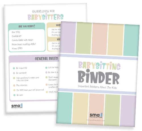 Babysitting Binder
