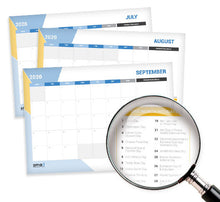 Load image into Gallery viewer, 2020 Business Activities Calendar for Businessman