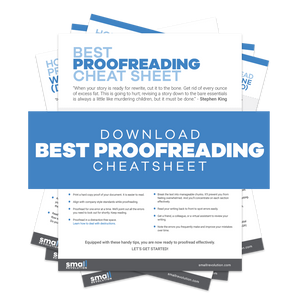 Best Proofreading Cheatsheet