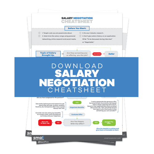 Salary Negotiation Cheatsheet
