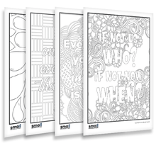 Load image into Gallery viewer, Dream Big Colouring Sheets