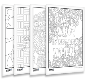 Dream Big Colouring Sheets