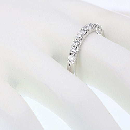 CERTIFIED 1/2 cttw 14K Gold Diamond Wedding Band Near Colorless (H-I)