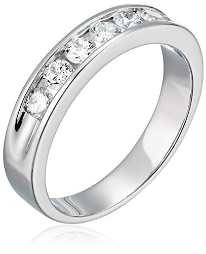 AGS Certified  | 1 cttw SI2-I1 14K Classic Diamond Wedding Band Near Colorless (G-H)
