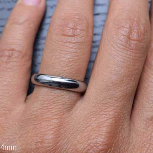 CERTIFIED Tungsten Carbide Wedding Ring Engagement Promise Domed (Many Width)