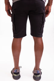 Man Of Arms Shorts - BLACK - Caliber Denim Co.