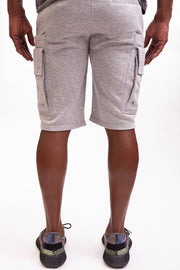 Man Of Arms Shorts - Gray - Caliber Denim Co.