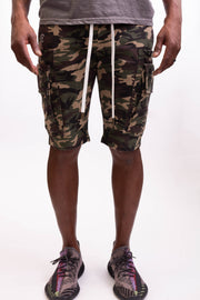 Man Of Arms Shorts - CAMO - Caliber Denim Co.