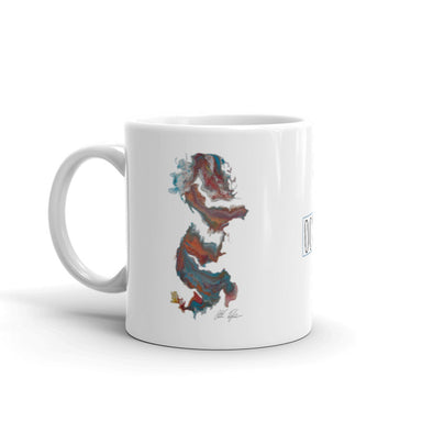 """Untitled 004"" Mug - College Collections Art"