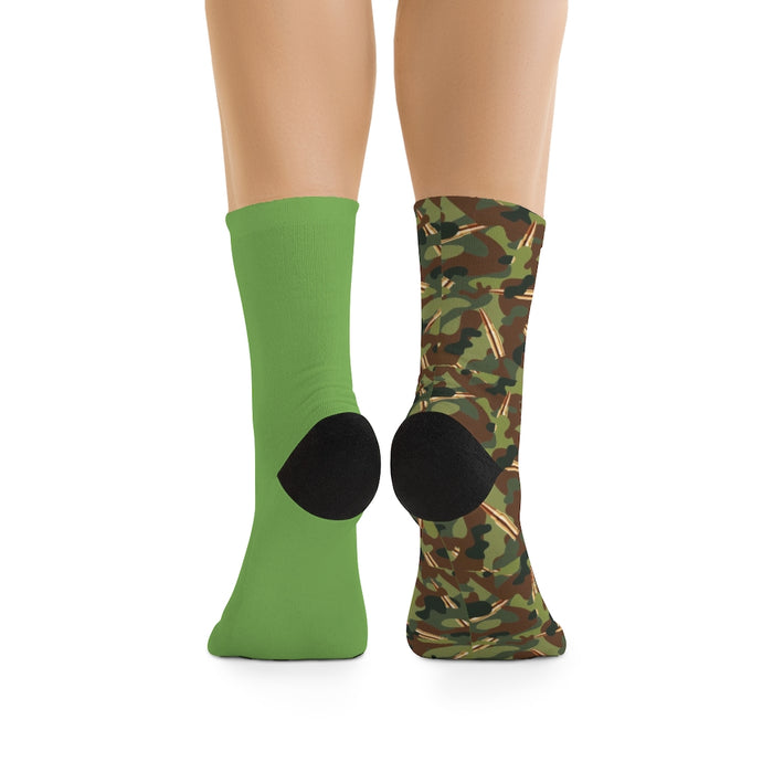 """CAMMO"" Socks - College Collections Art"