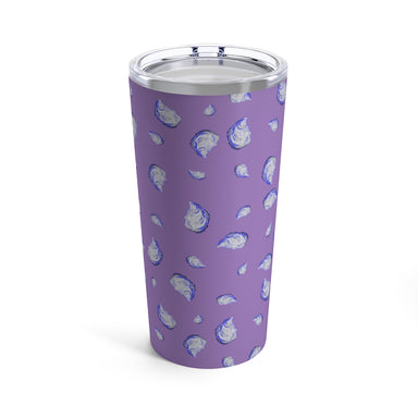 """Oysterfest"" Purple Tumbler 20oz"