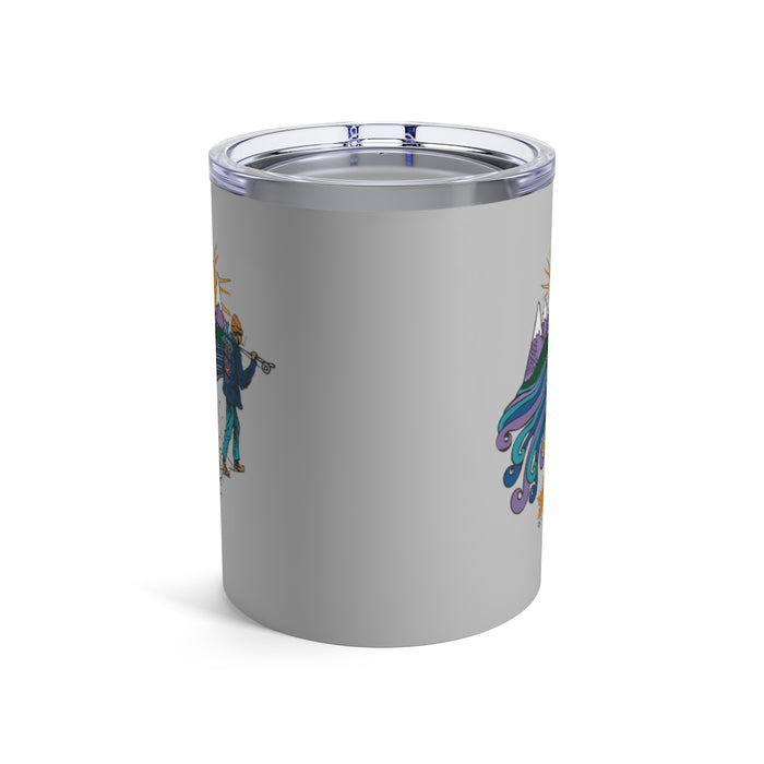 """Hiker"" Tumbler 10oz - College Collections Art"