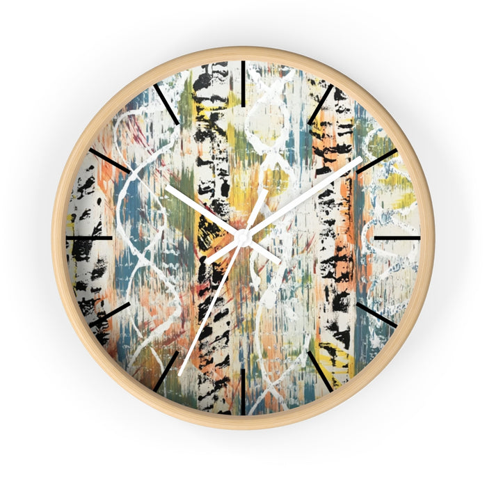 """Untitled"" Wall clock - College Collections Art"