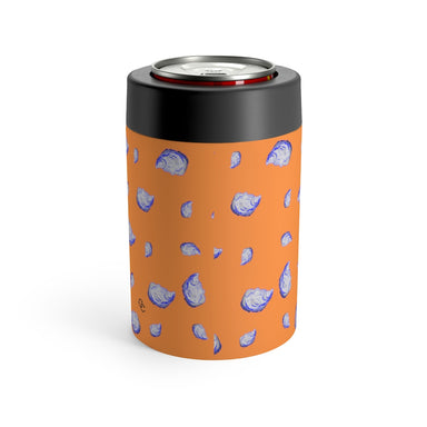 """Oysterfest"" Orange Can Holder - College Collections Art"