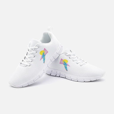 """Shapes"" Unisex Athletic Sneakers - College Collections Art"