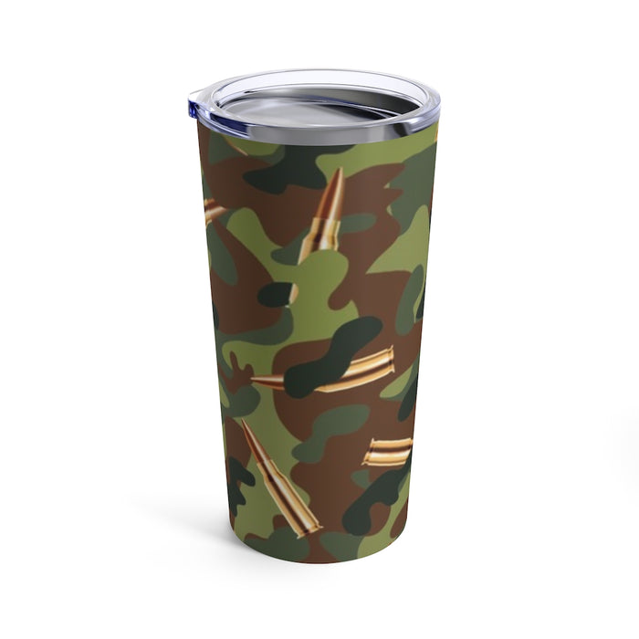 """CAMMO"" Tumbler 20oz - College Collections Art"