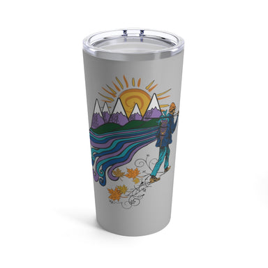 """Hiker"" Tumbler 20oz - College Collections Art"