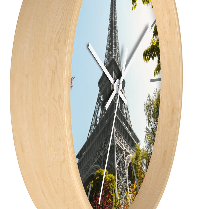"""Paris Sprint"" Wall clock - College Collections Art"
