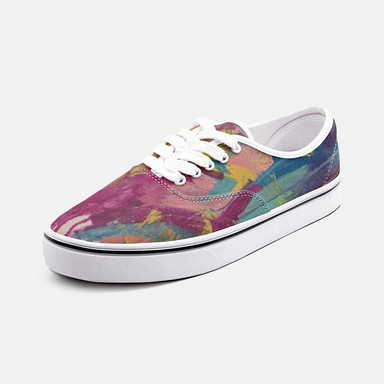 """It Wasn't Always Given"" Canvas  Low Cut Sneakers - College Collections Art"