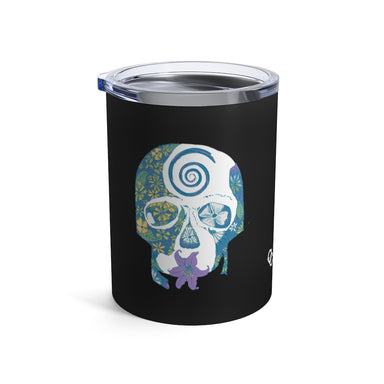 """Tropical Skull"" Tumbler 10oz"