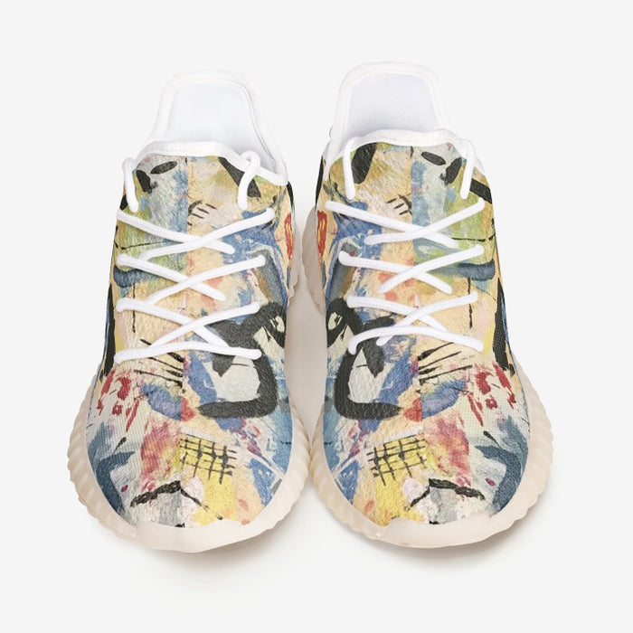 """Andy Warhol Recreation"" Unisex Lightweight Sneaker YZ - College Collections Art"
