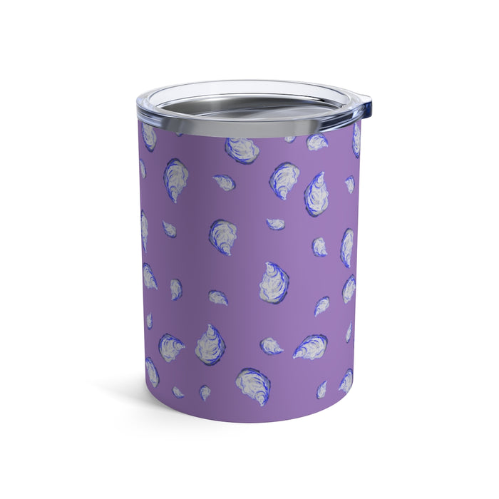 """Oysterfest"" Purple Tumbler 10oz - College Collections Art"