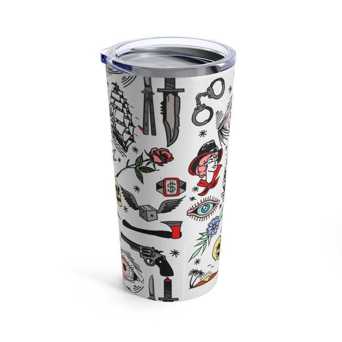 """Pirate Life"" Tumbler 20oz - College Collections Art"