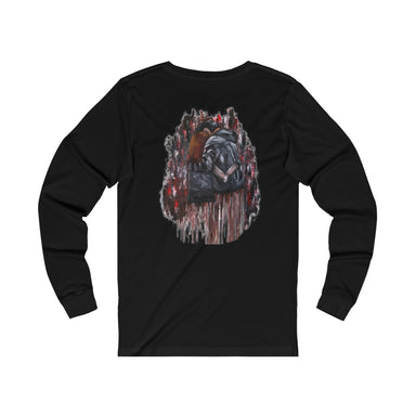 """Top of Rock"" Unisex Long Sleeve Tee - College Collections Art"