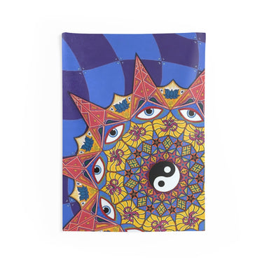 """Polarity"" Indoor Wall Tapestries - College Collections Art"