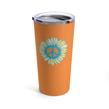 """Peace Flower"" Tumbler 20oz - College Collections Art"