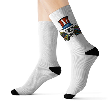 """Grateful"" Sublimation Socks - College Collections Art"