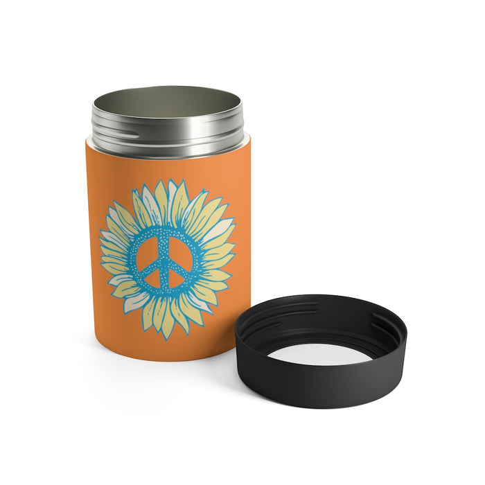 """Peace Flower"" Can Holder - College Collections Art"
