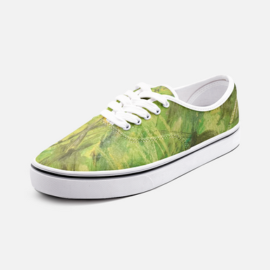 """Cadmium"" CanvasLow Cut Sneakers - College Collections Art"