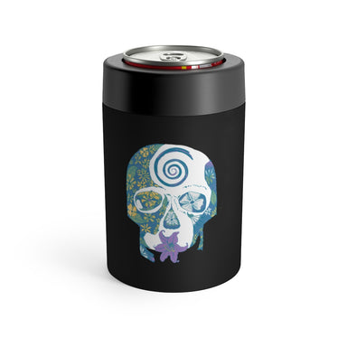 """Tropical Skull"" Can Holder - College Collections Art"