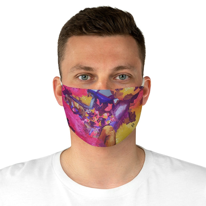 """I Am Not Ashamed to Love"" Fabric Face Mask"