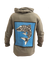Rough Waters Long Sleeve Hoodie - College Collections Art