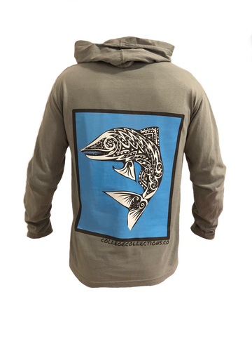 Rough Waters Long Sleeve Hoodie
