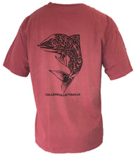 Load image into Gallery viewer, Red Salmon Short-Sleeve T-Shirt