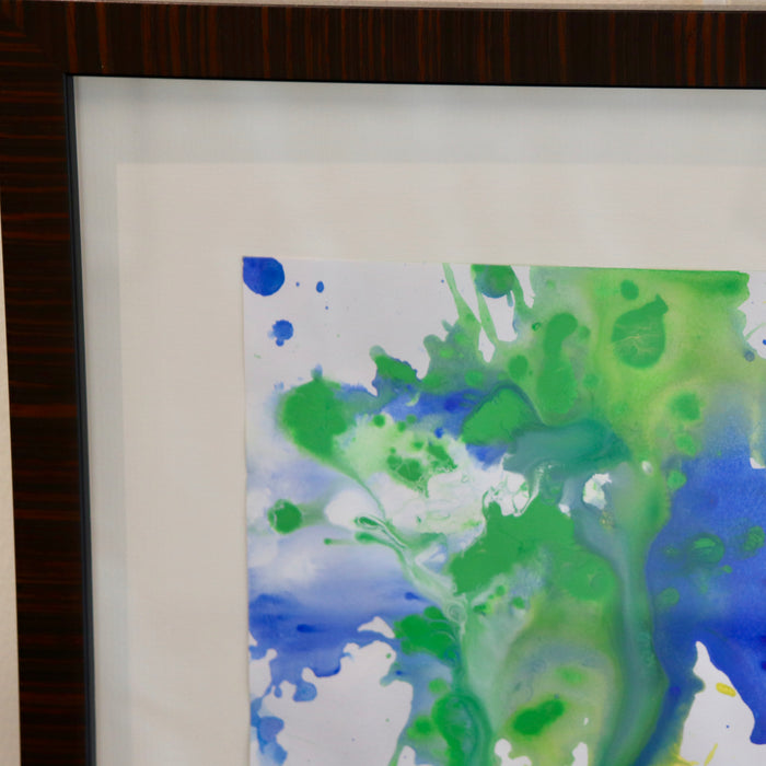 """Human Abstraction"" 13"" x 23"" Original Painting - College Collections Art"