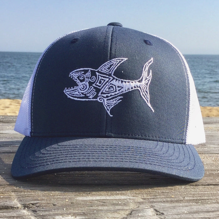 Shark Snap Back for John Ahern - College Collections Art
