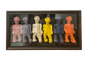 """Mini Men"" - College Collections Art"