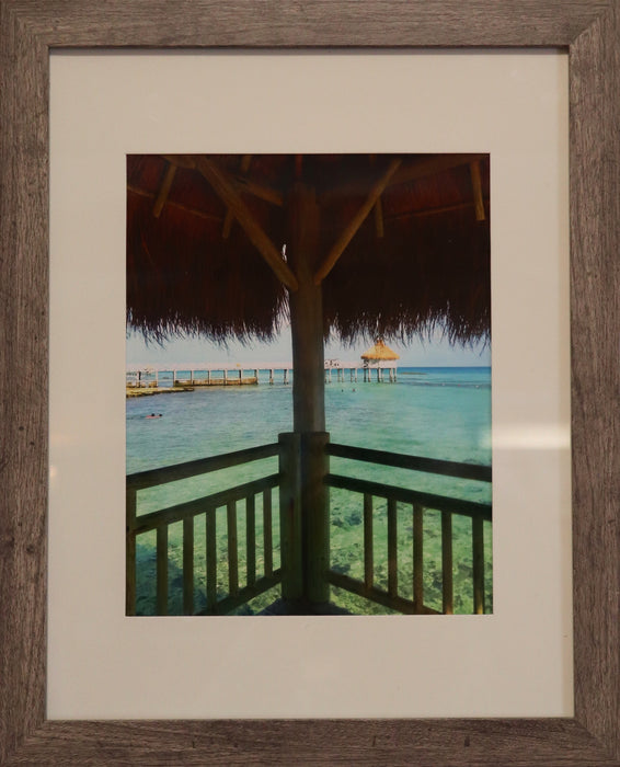 """Beach Bungalow"" Framed Photo - College Collections Art"