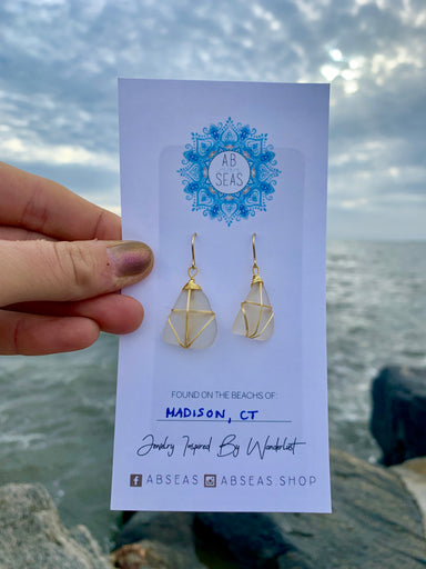 ABSeas Earrings - College Collections Art