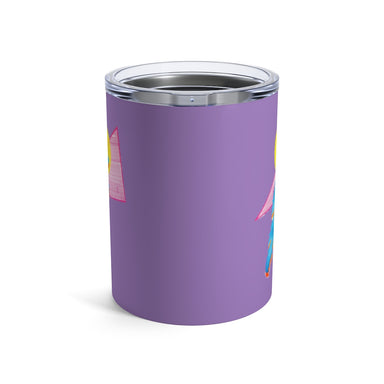 """Shapes"" Tumbler 10oz - College Collections Art"
