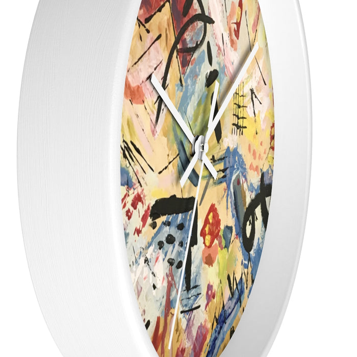"""Andy Warhol Recreation"" Wall clock - College Collections Art"