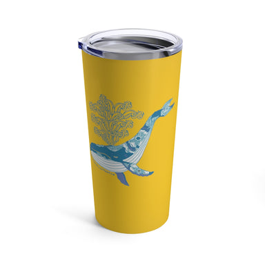 """Humpback Whale"" Tumbler 20oz - College Collections Art"